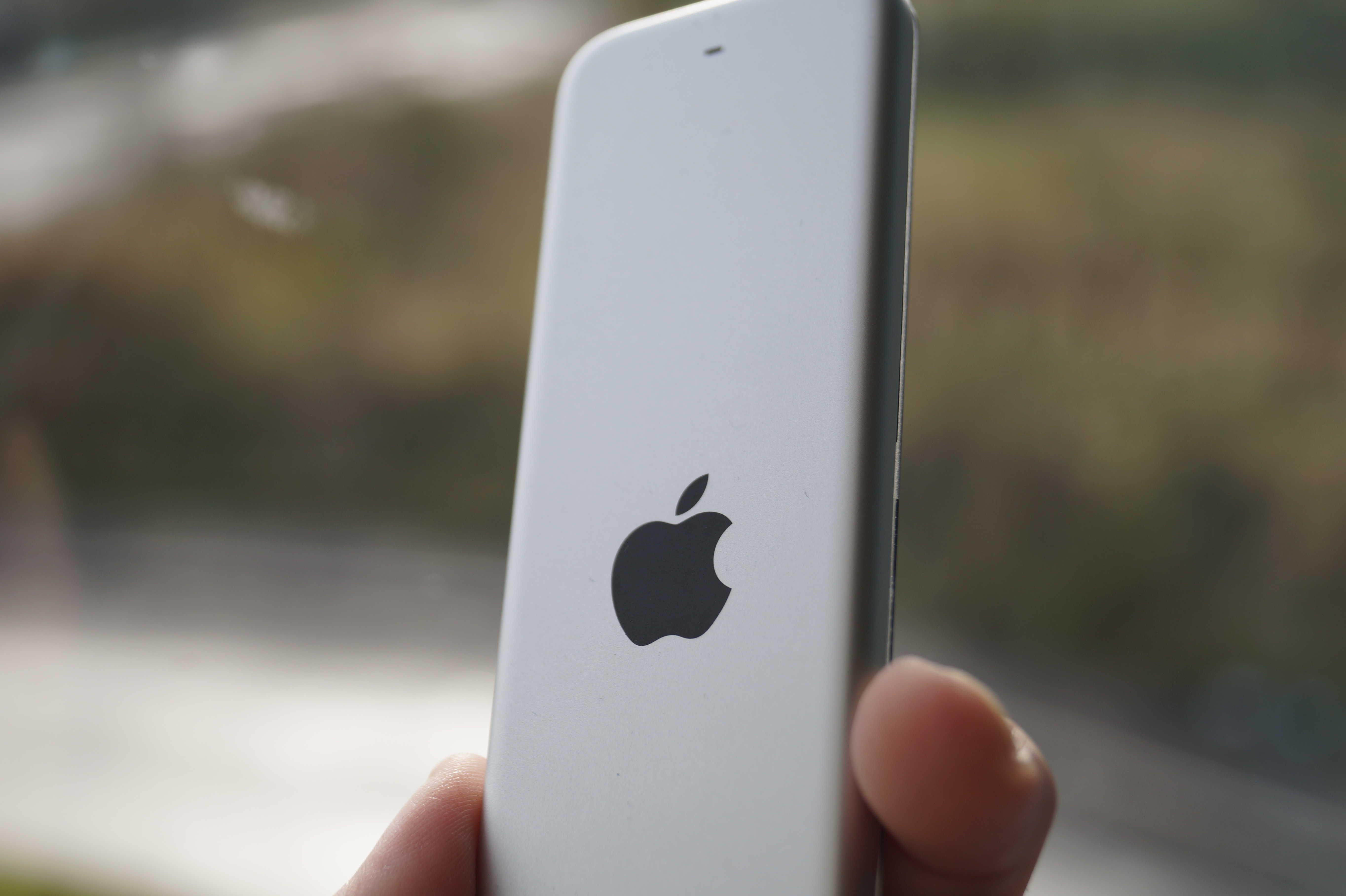 The Siri Remote is like a teeny, tiny iPad