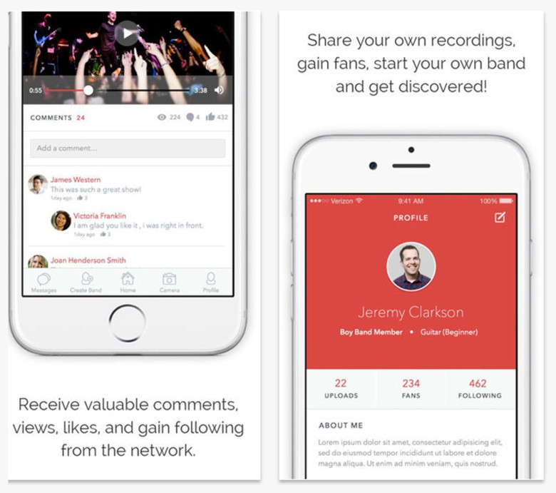 The app made by a musician for musicians may just help get you discovered.