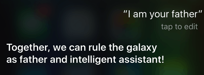 Siri Quote Magnificent Play Darth Vader With Siri And Get Some Hilarious Responses
