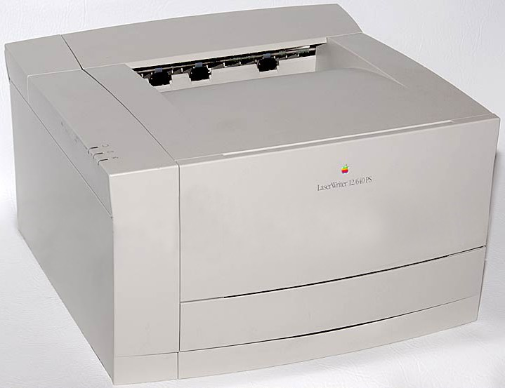 Printers used to be a big part of Apple's business.