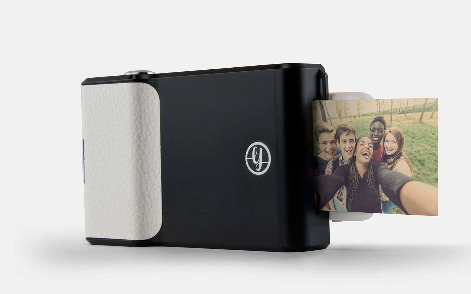 The Prynt Case has a built-in photo printer.