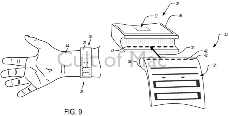 A glimpse at how Apple's futuristic straps could look.