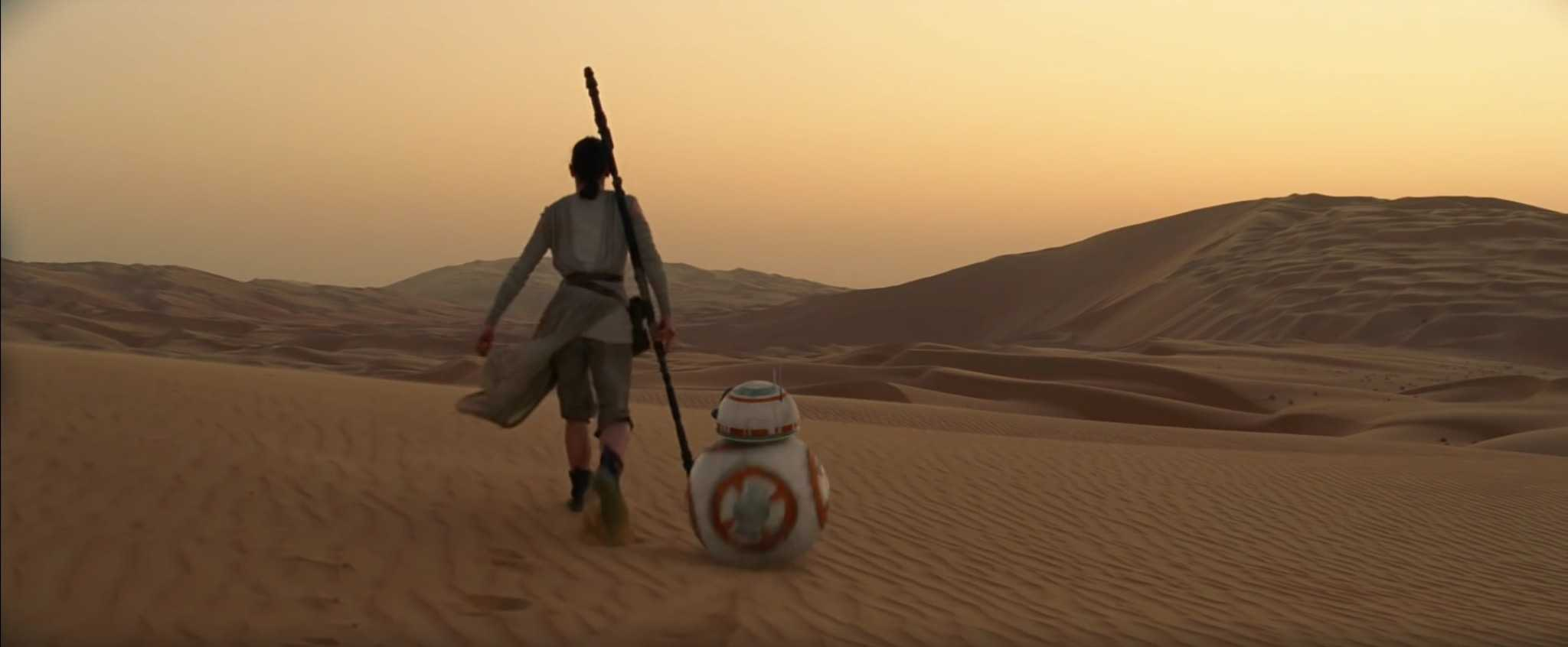 Star Wars Force Awakens Rey BB-8