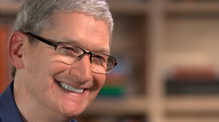 Tim Cook answered some tough questions during his interview.