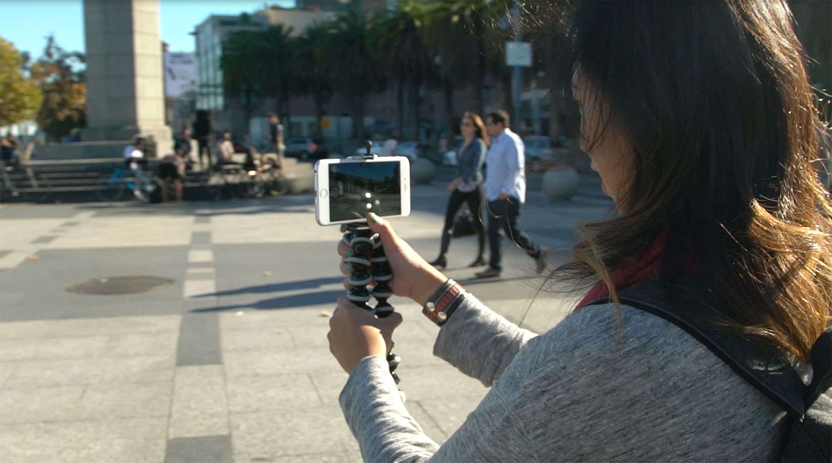 Cielo de la Paz can provide steady guidance on how to shoot video with the iPhone.