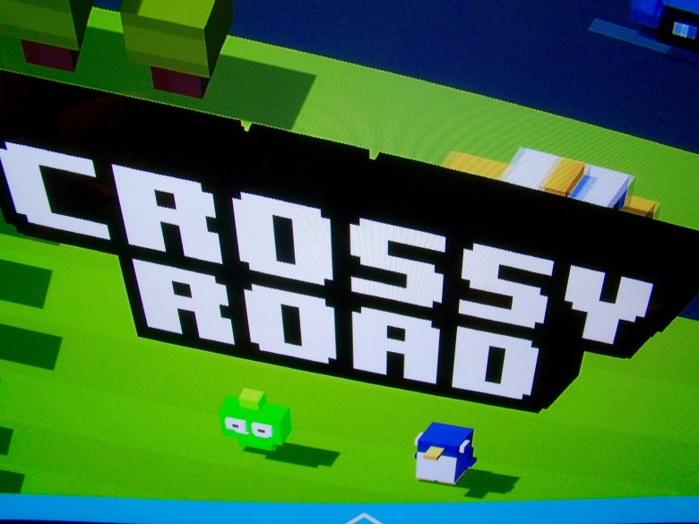 Play Crossy Road with a pal, even without a second controller.
