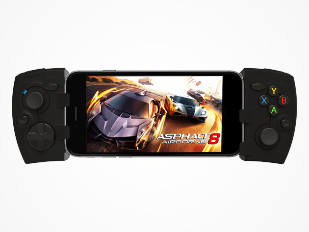 Phonejoy's Bluetooth gamepad turns almost any phone or tablet into a fully-fledged gaming platform.