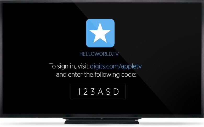 What Digits might look like on your Apple TV.