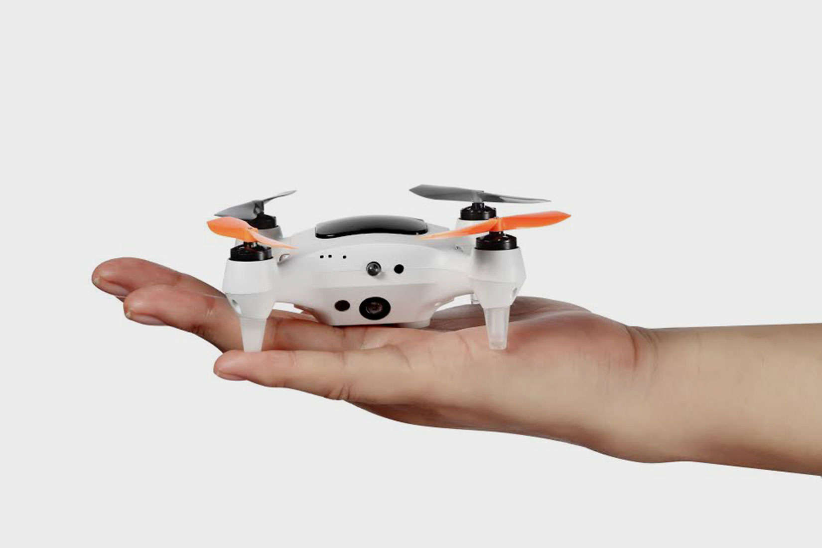 The little drone that carries a big camera.
