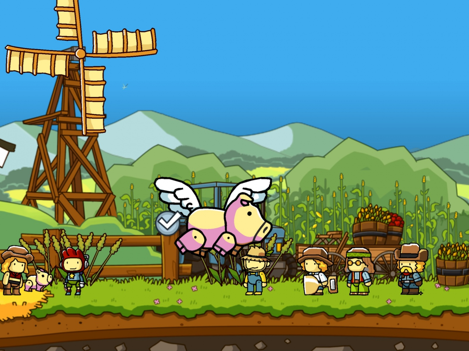 use-your-words-to-save-your-sister-in-scribblenauts-unlimited-image-cultofandroidcomwp-contentuploads201512when-pigs-fly-jpg