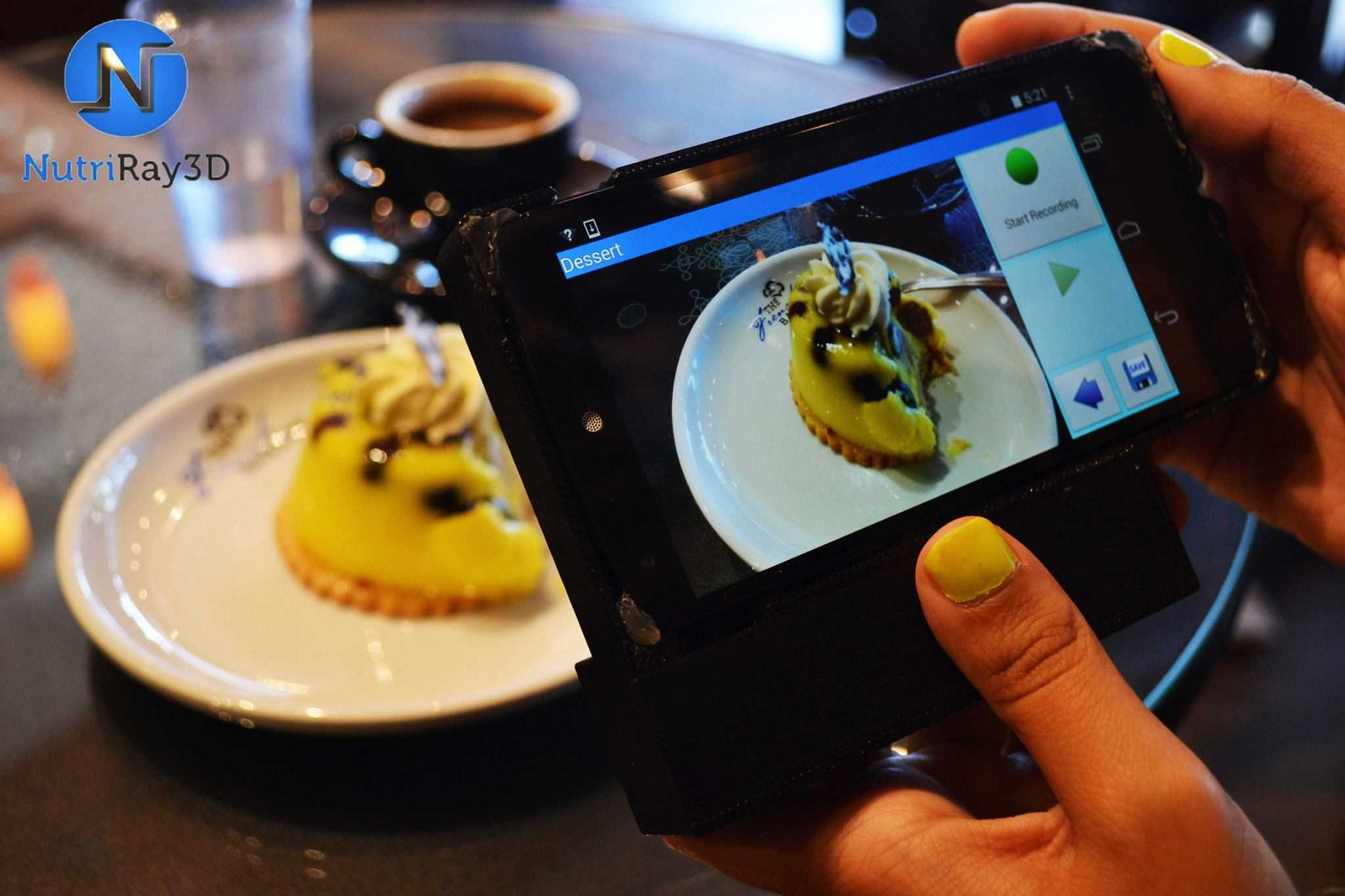 3d scanner will let you count food calories with your iphone. Black Bedroom Furniture Sets. Home Design Ideas
