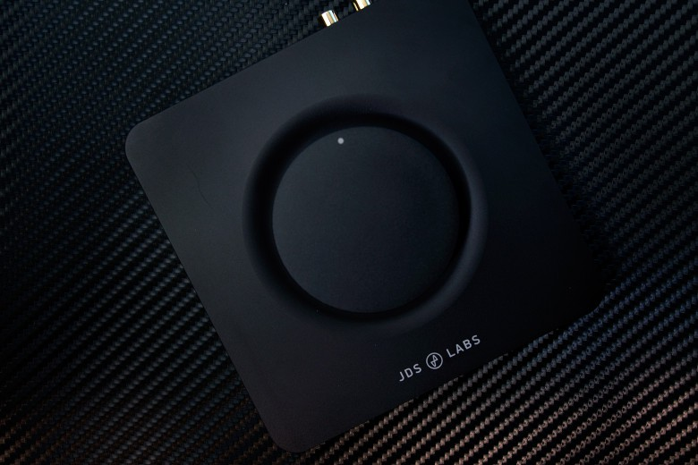 Twist the night away with this headphone amp's gigantic dial.
