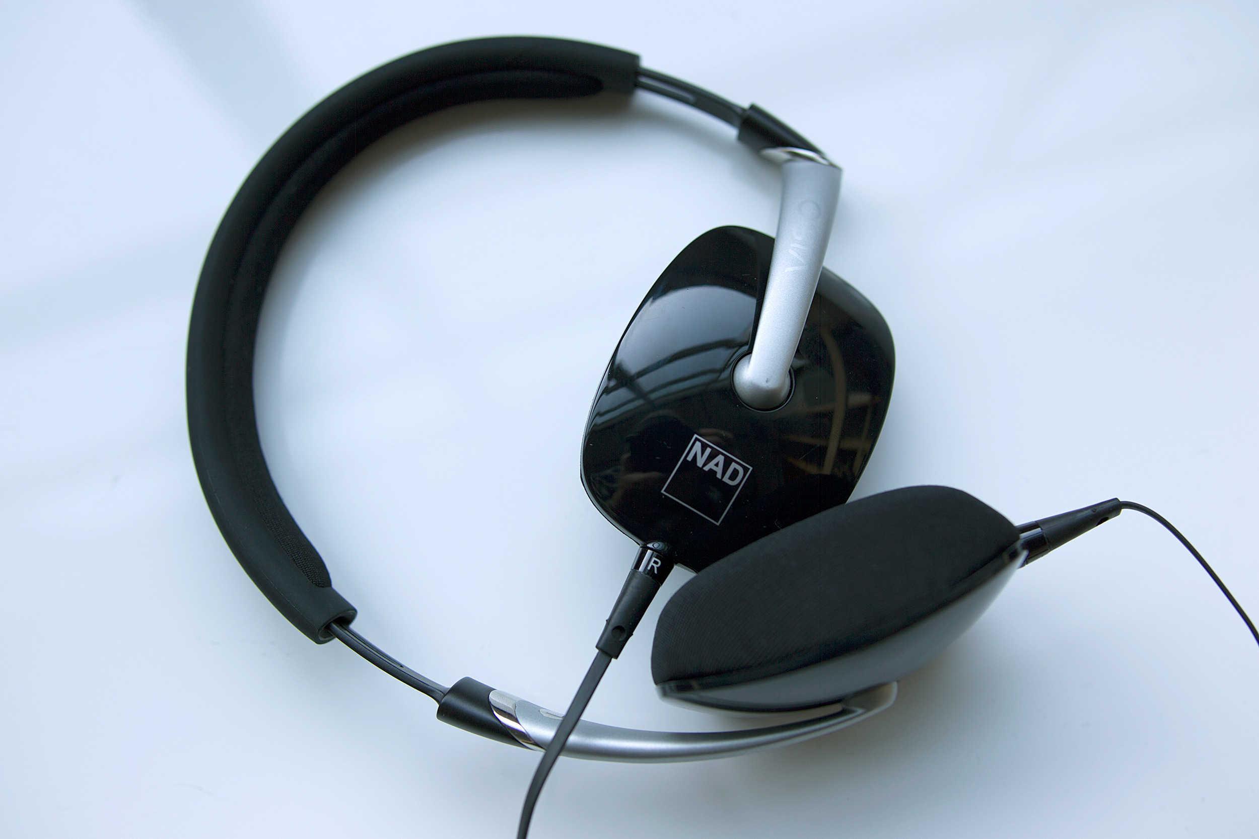 NAD VISO HP30 on-ear headphones offer RoomFeel technology.
