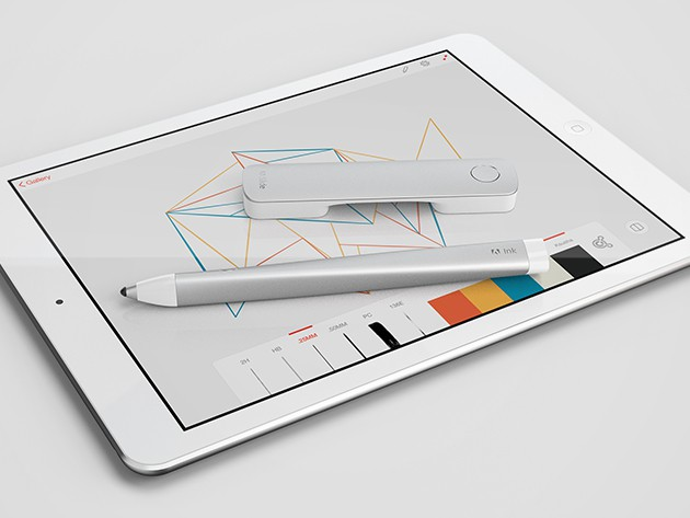Adobe's amazing stylus and ruler make it possible to craft beautiful images quickly and intuitively.