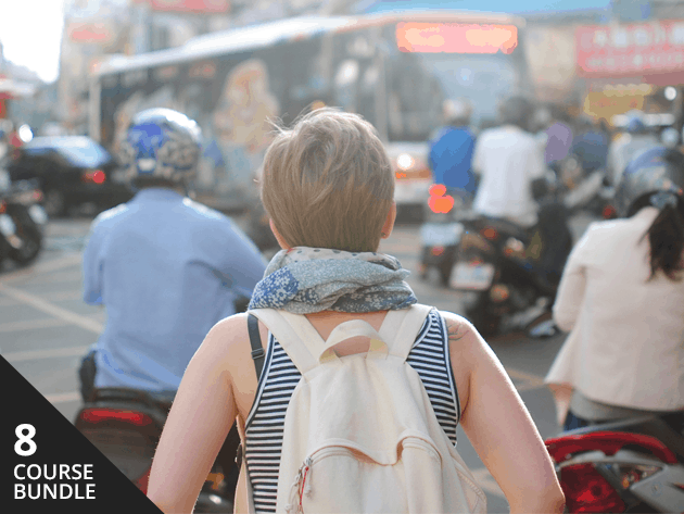 Learn to explore the globe while spending less, earning more, and speaking new languages.