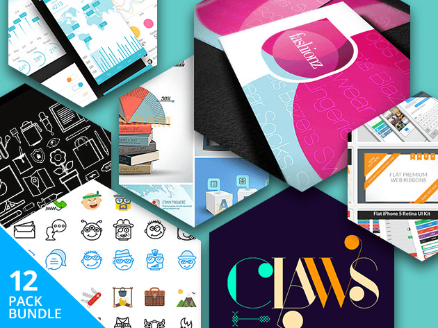 Get access to this year's top design assets, over 12,000 icons, fonts, templates, UI kits and lots more.