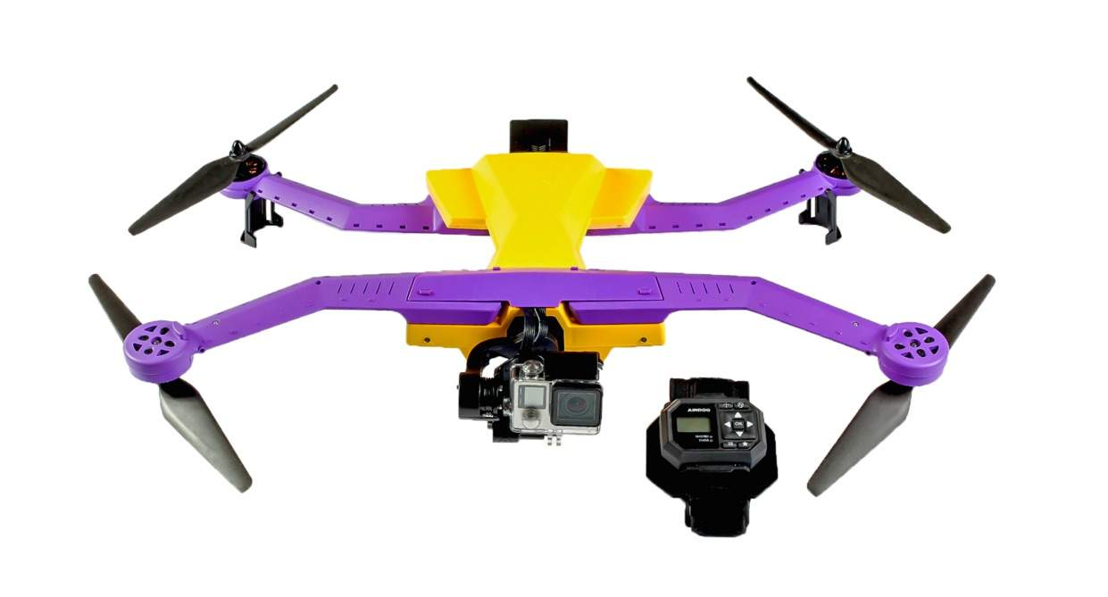 You don't need a pilot to fly this drone.