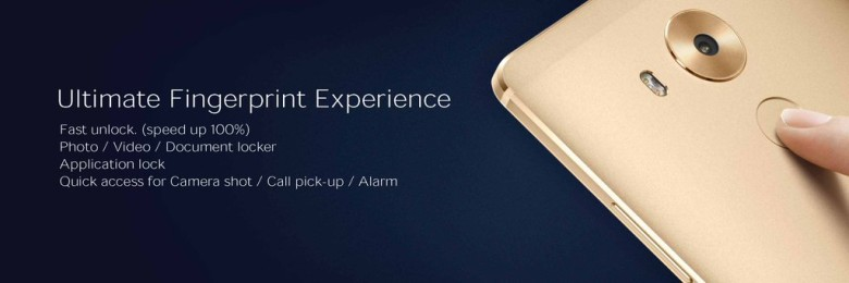 Huawei Mate 8 fingerprint scanner CES 2016