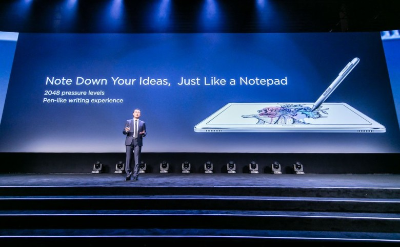 Huawei Media Pad M2 CES 2016