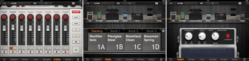 For a plethora of amps and effects in a single app.