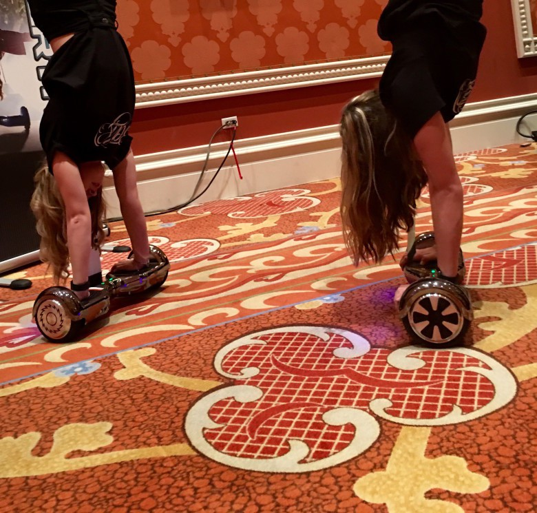 This Hoverboard is hot at  CES 2016.