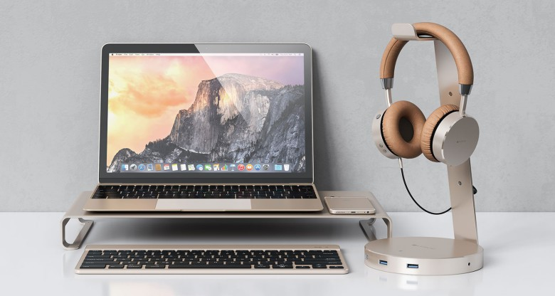Ideal Aluminum stand puts Apple monitors on fitting pedestal | Cult of Mac HE23