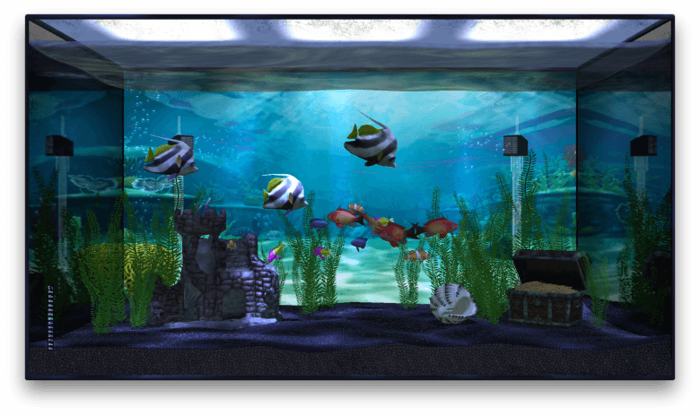 Aquarium app fills your Apple TV with A.I. fish