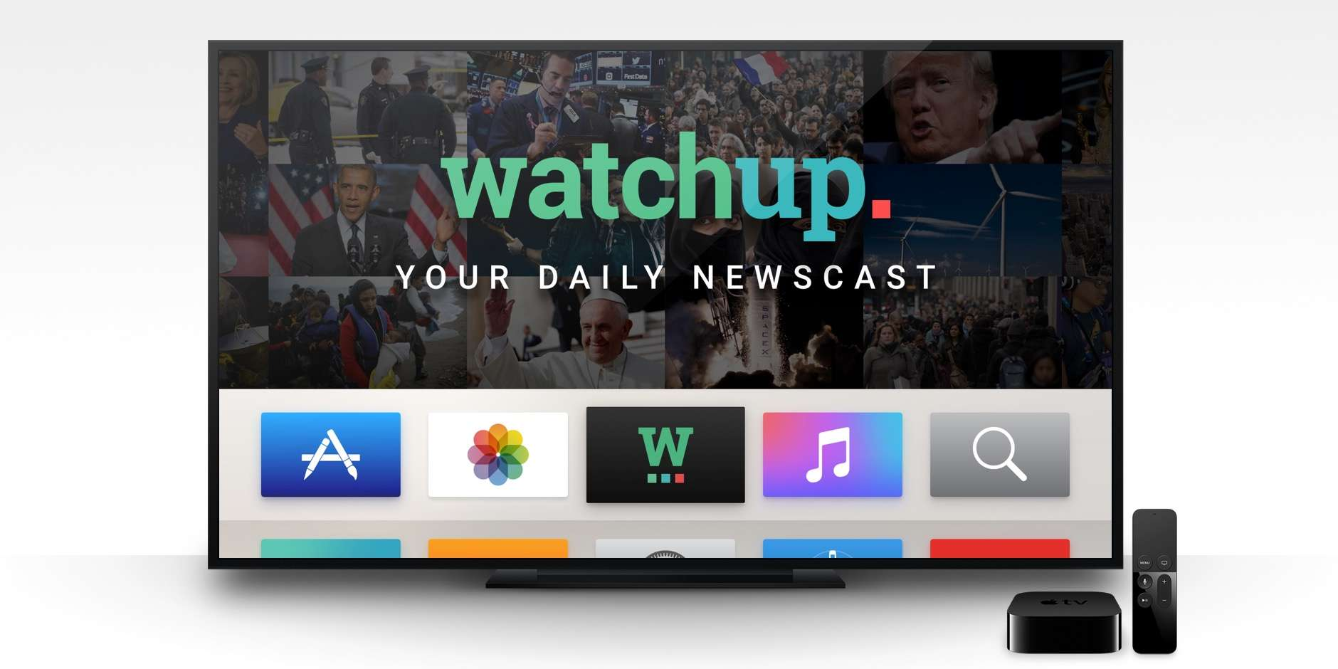 Get all your news, sans cable package, right on your Apple TV.