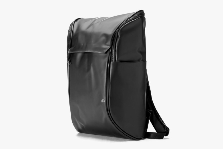 If lighter colors offend your fashion sensibilities, booq offers a Daypack in classic black.