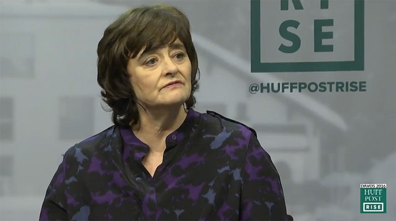 Cherie Blair, women's rights advocate and wife of a former British prime minister, chides Apple for its lack of diversity.