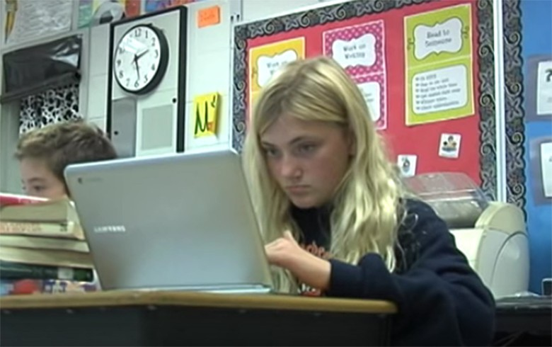 Many schools say the Google Chromebook is a more affordable way to bring technology to the classroom.