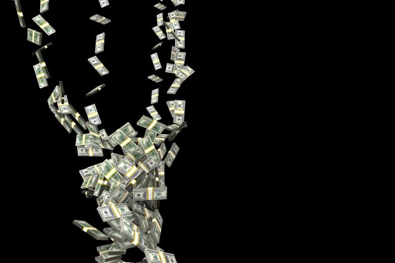 It's a veritable tornado of cash!
