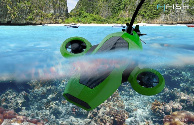 The FiFish Atlantis hopes to the first consumer drone of the seas.