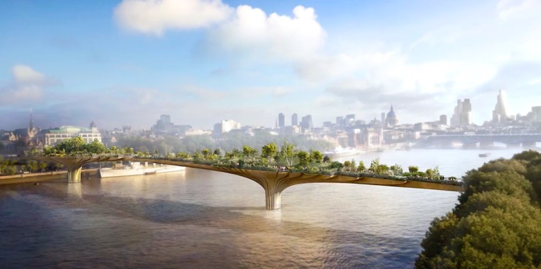 The Garden Bridge, brought to you by Apple?