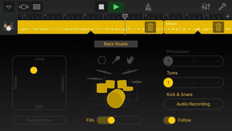 Another bit of GarageBand tech appropriated for Music Memos.