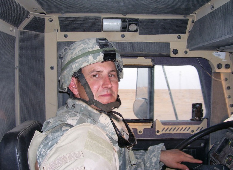 Patrick Skluzacek was in the army reserves when he was called up and deployed to Iraq in 2006.