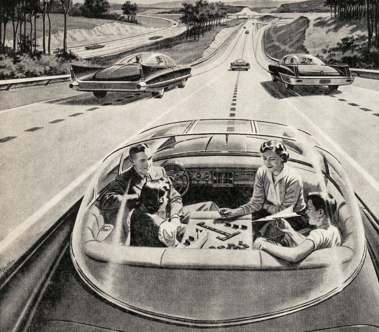 In the not-so-distant future, car drives YOU!