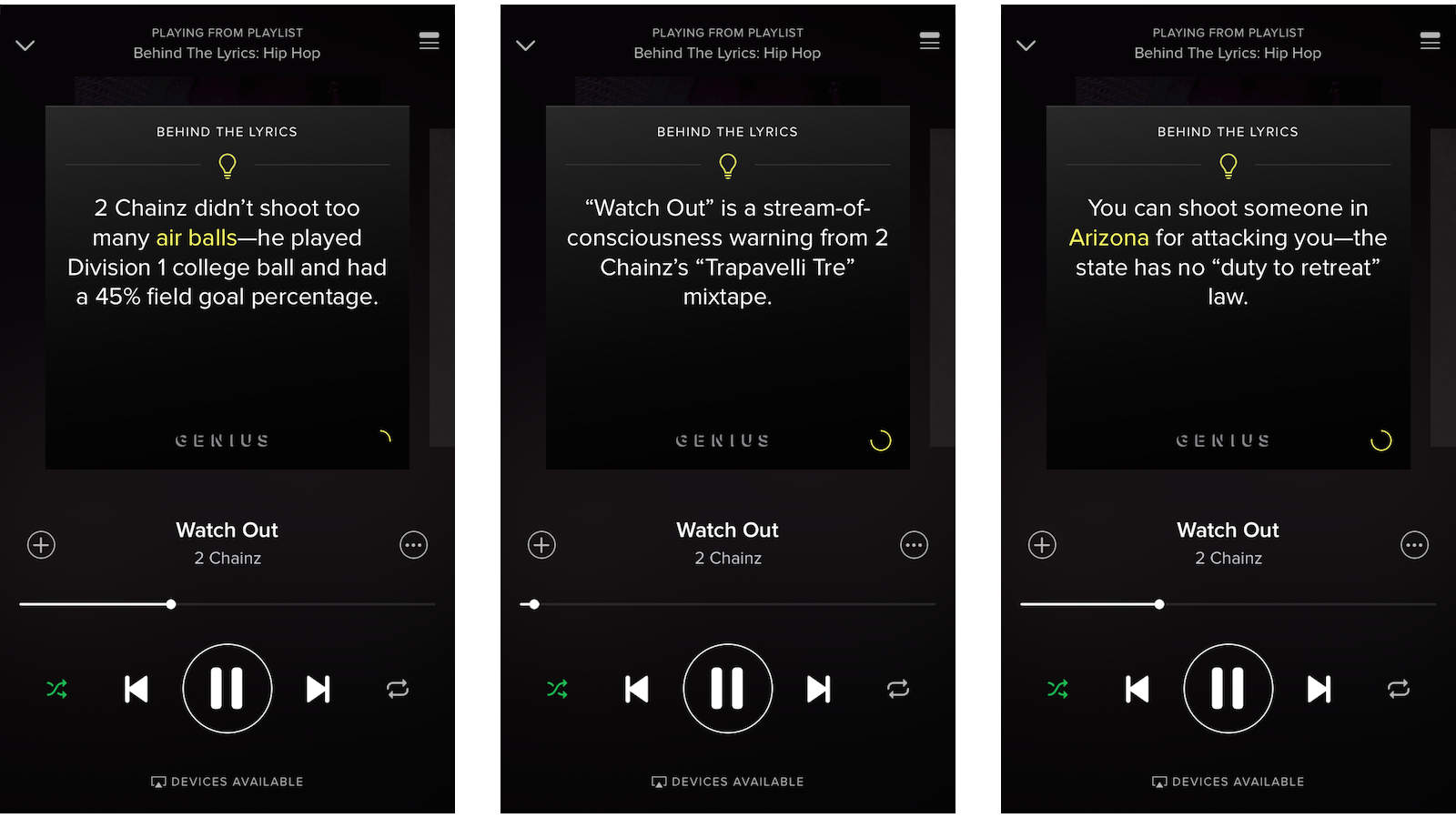 Spotify's new 'Behind the Lyrics' playlists decipher your