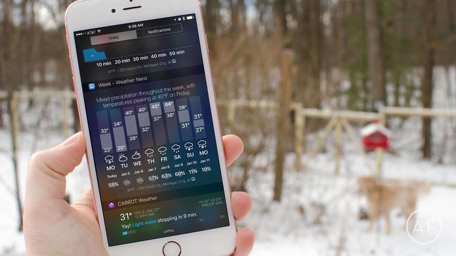 Four apps that make checking the weather on your iPhone quick and easy.