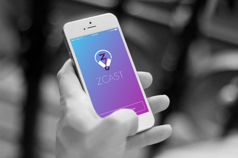 Phone in your podcast (no kidding) with the app ZCast.