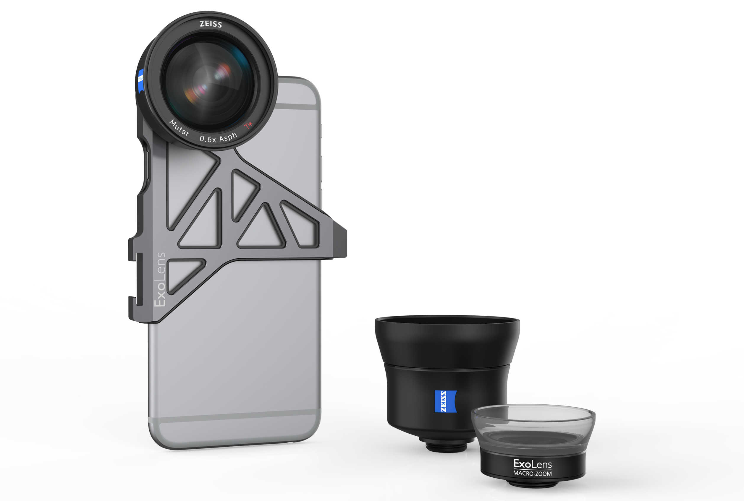 ExoLens, which partnered with ZEISS for a pro line of iPhone lenses last year, will soon offer a protective case for the iPhone 7 to accommodate the lenses.
