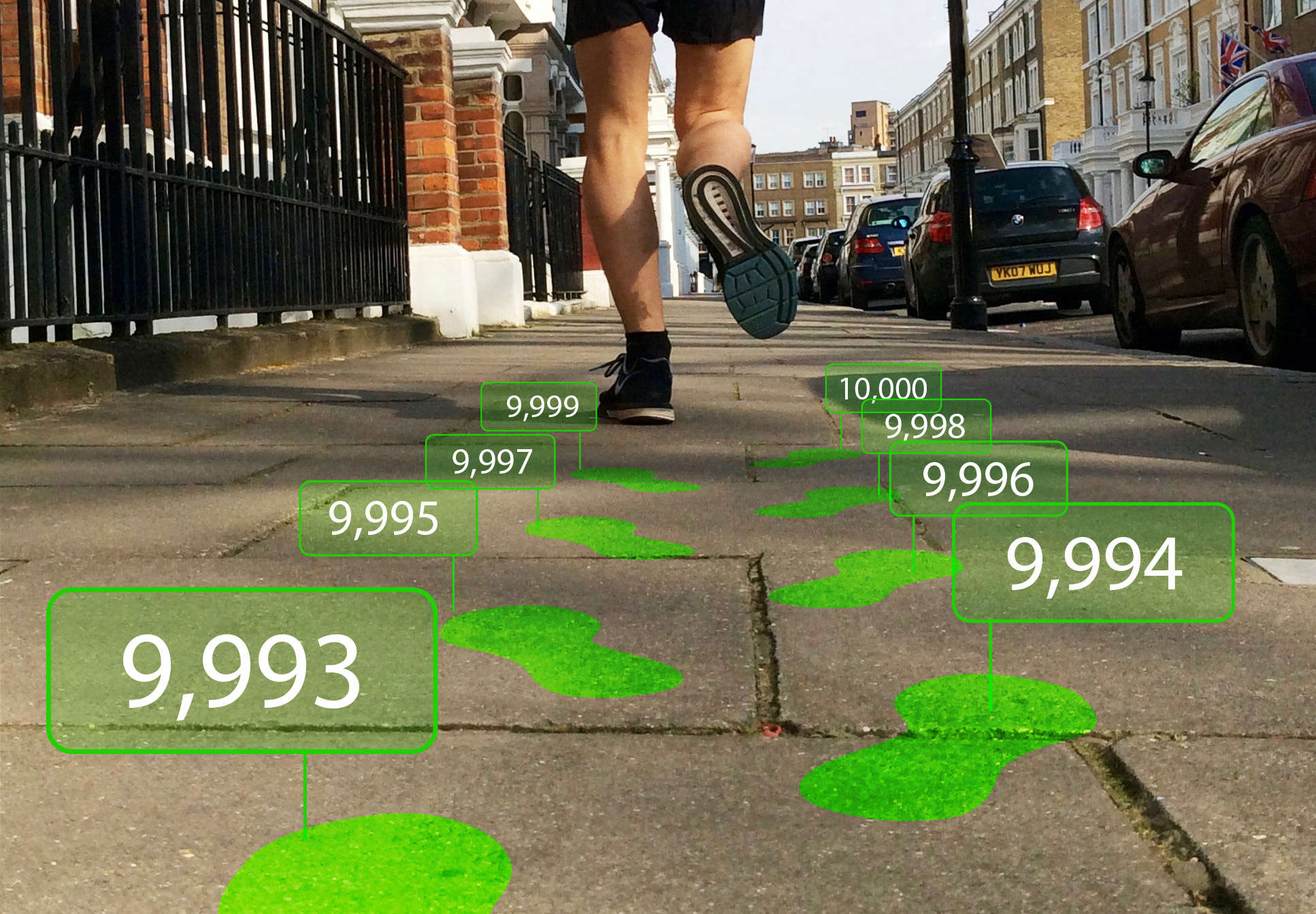 Where will Fitbit's 10,000 steps a day lead you?