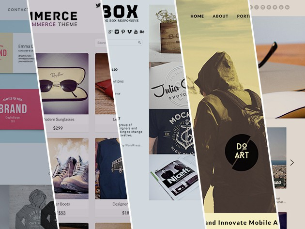 Build beautiful WordPress sites with a bundle of nearly 100 responsive, beautiful themes.