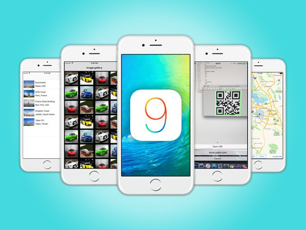 These lessons include all everything need to build iOS 9 apps.