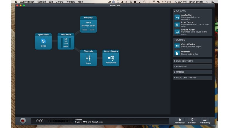 Rogue Amoeba also makes great audio recording software work checking out.