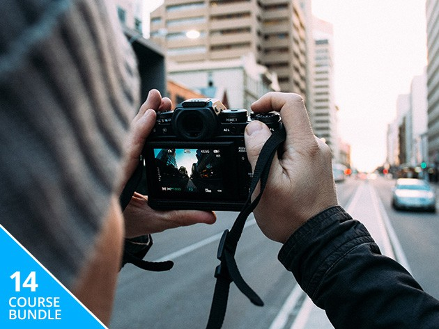 These 14 courses cover essential Adobe photo software and the key skillsets in photography itself.