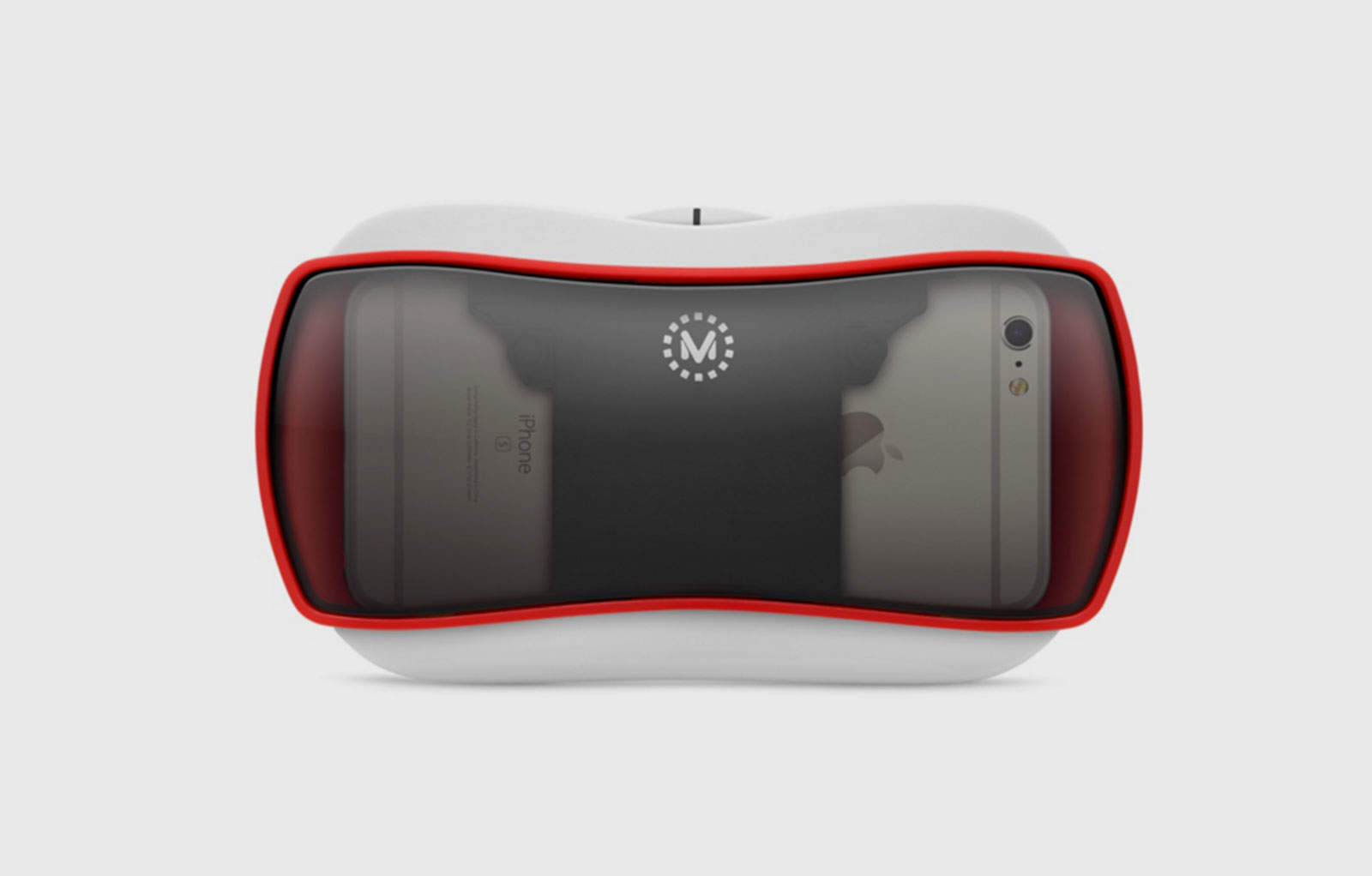 The iPhone looks good inside the View-Master VR headset.
