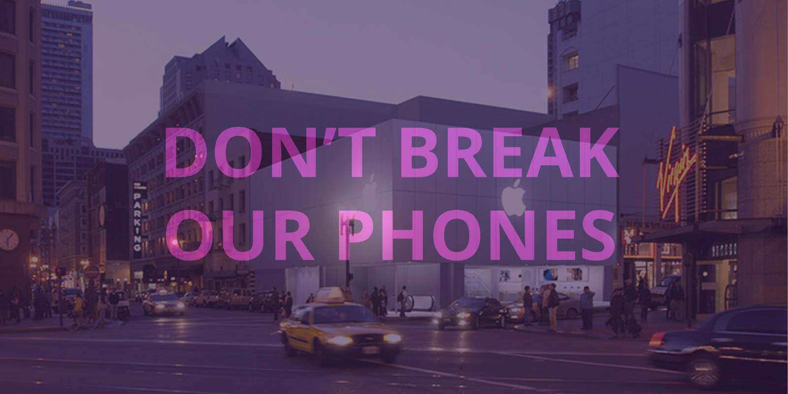 Encryption protest San Francisco