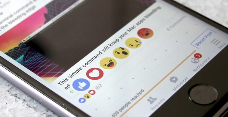 How to use new Facebook Reactions emojis the right way