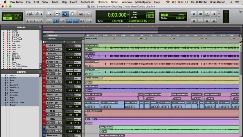 Pro Tools is an industry standard when it comes to audio recording.